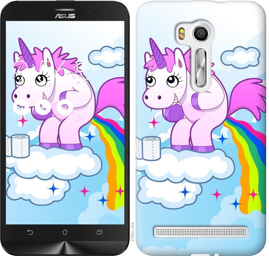 Чехол на Asus ZenFone Go TV ZB551KL Единорожка