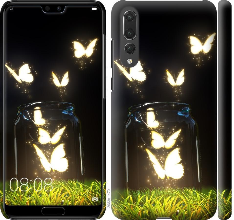 Чехол на Huawei P20 Pro Бабочки