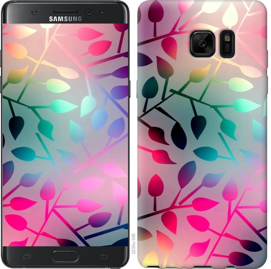 Чохол на Samsung Galaxy Note 7 Duos N930F  Листя