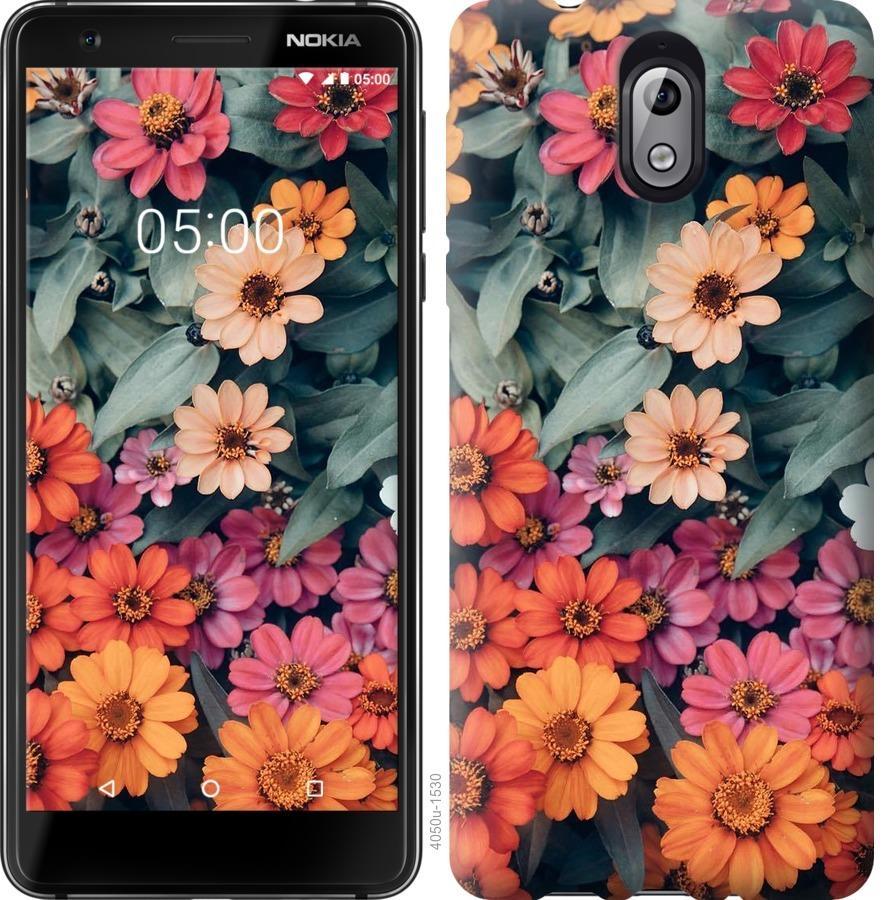 Чехол на Nokia 3.1 Beauty flowers