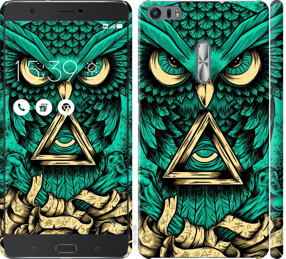 Чохол на Asus Zenfone 3 Ultra ZU680KL Сова Арт-тату