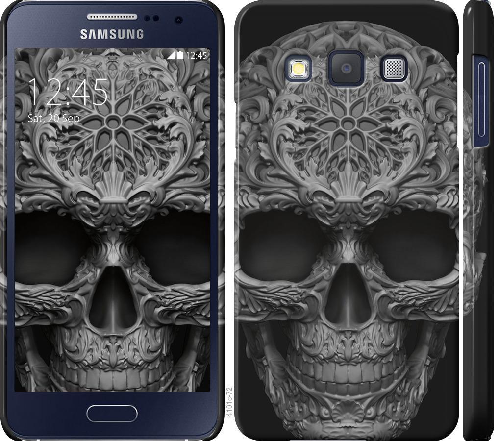 Чехол на Samsung Galaxy A3 A300H skull-ornament