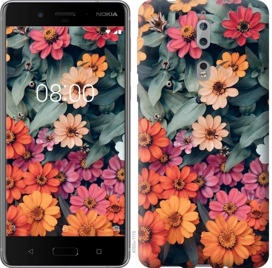 Чехол на Nokia 8 Beauty flowers