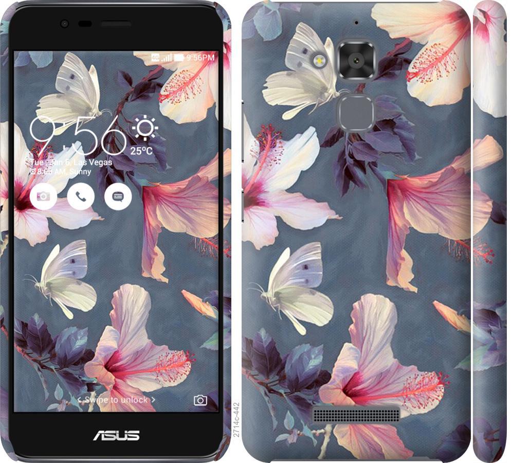Чохол на Asus Zenfone 3 Max ZC520TL Намальовані квіти