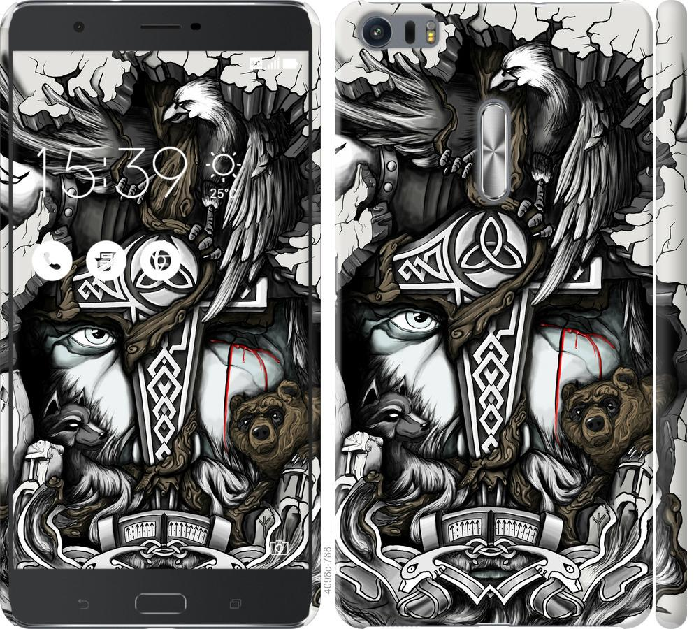 Чохол на Asus Zenfone 3 Ultra ZU680KL Тату Викинг