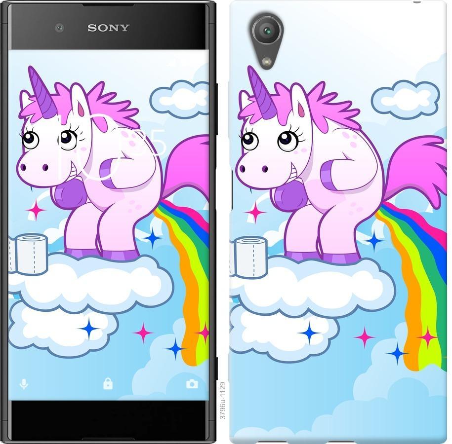 Чехол на Sony Xperia XA1 Plus G3412 Единорожка