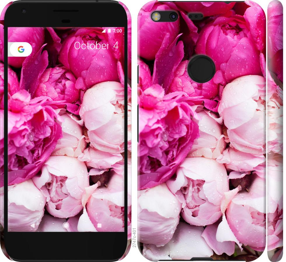 Чехол на Google Pixel XL Розовые пионы