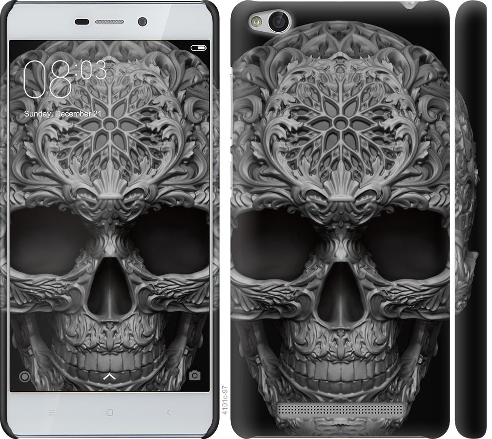 Чехол на Xiaomi Redmi 3 skull-ornament