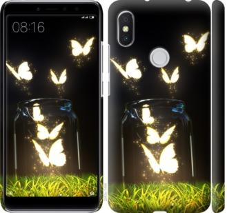 Чехол на Xiaomi Redmi S2 Бабочки