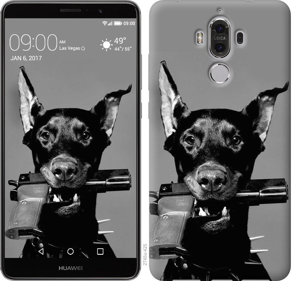 Чохол на Huawei Mate 9 Доберман