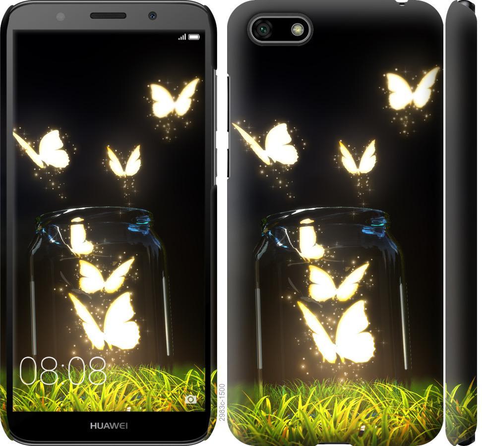 Чехол на Huawei Y5 2018 Бабочки
