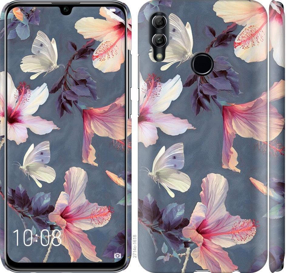 Чехол на Huawei Honor 10 Lite Нарисованные цветы