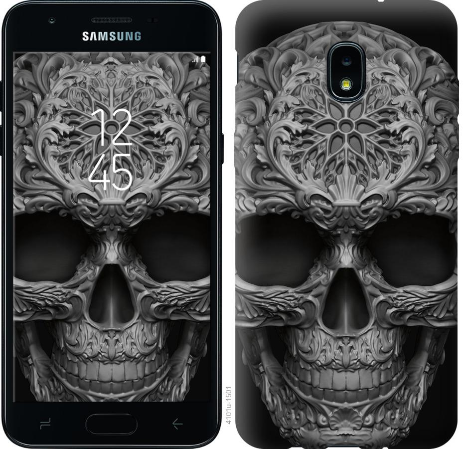 Чохол на Samsung Galaxy J3 2018 skull-ornament