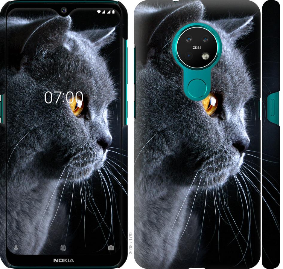 Чехол на Nokia 7.2 Красивый кот