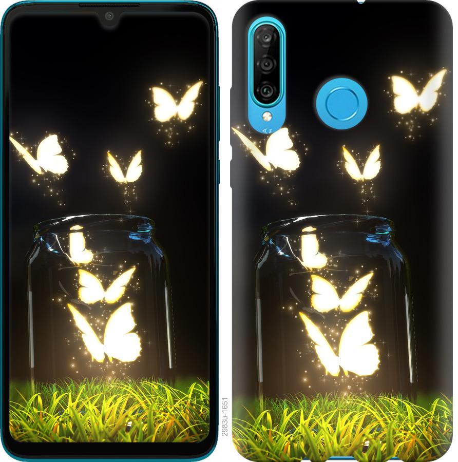 Чехол на Huawei Honor 10i Бабочки