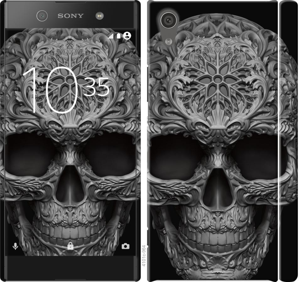 Чехол на Sony Xperia XA1 G3112 skull-ornament