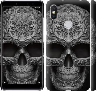 Чехол на Xiaomi Redmi S2 skull-ornament