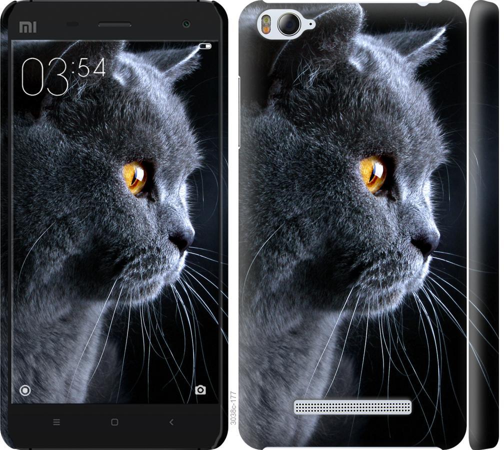 Чехол на Xiaomi Mi4i Красивый кот
