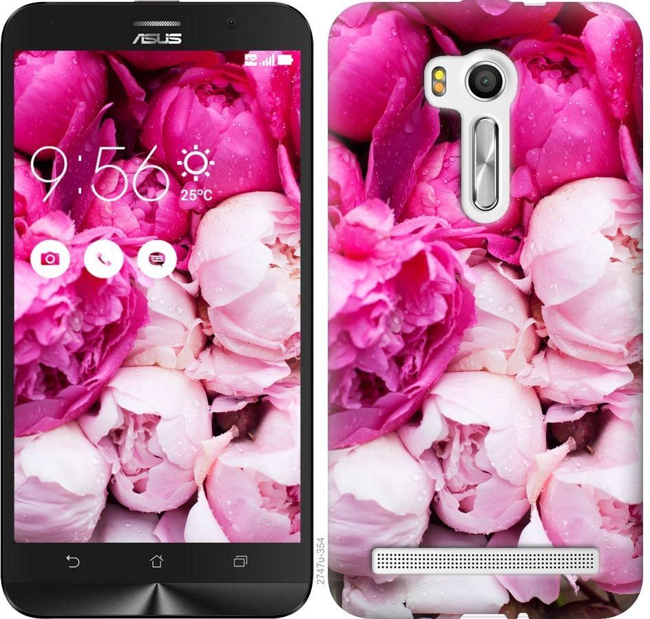 Чехол на Asus ZenFone Go TV ZB551KL Розовые пионы