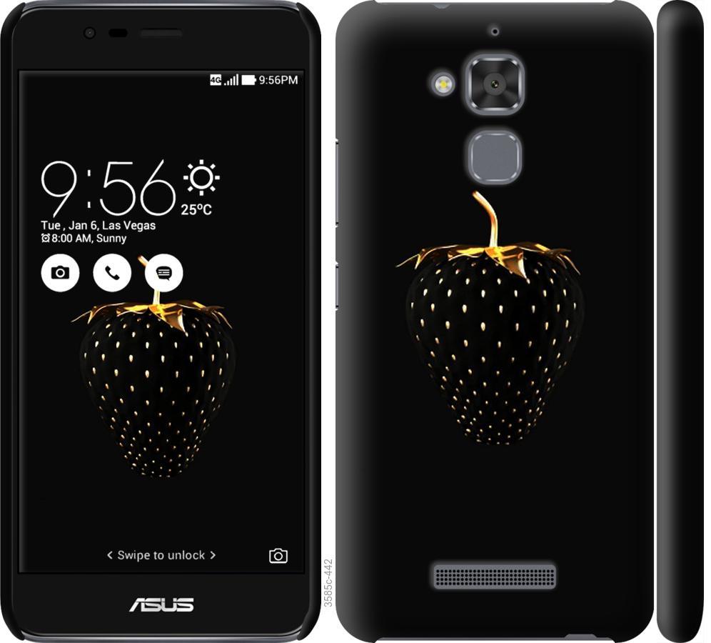 Чохол на Asus Zenfone 3 Max ZC520TL  Чорна полуниця