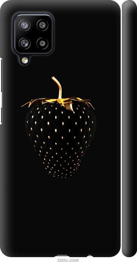 Чехол на Samsung Galaxy A42 A426B Черная клубника