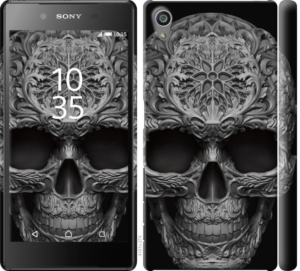 Чехол на Sony Xperia Z5 E6633 skull-ornament