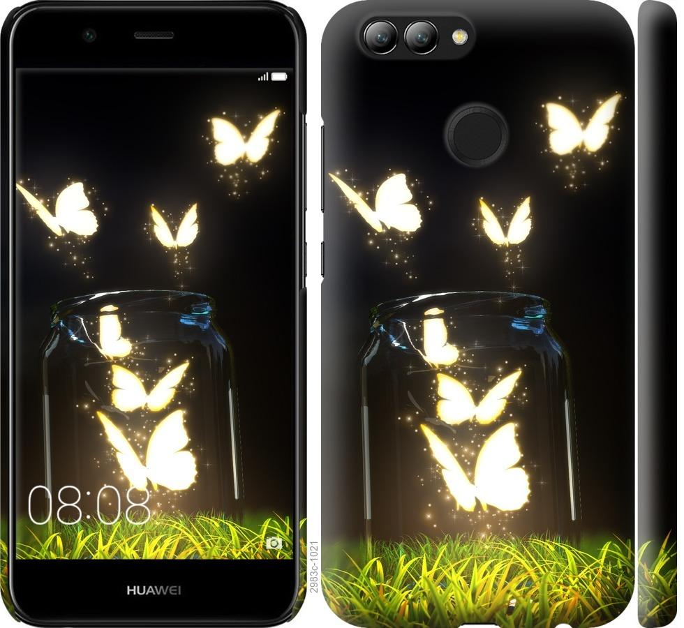 Чехол на Huawei Nova 2 Бабочки