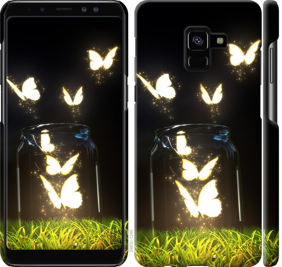 Чехол на Samsung Galaxy A8 Plus 2018 A730F Бабочки