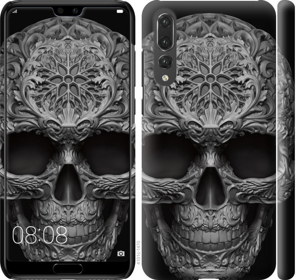 Чехол на Huawei P20 Pro skull-ornament