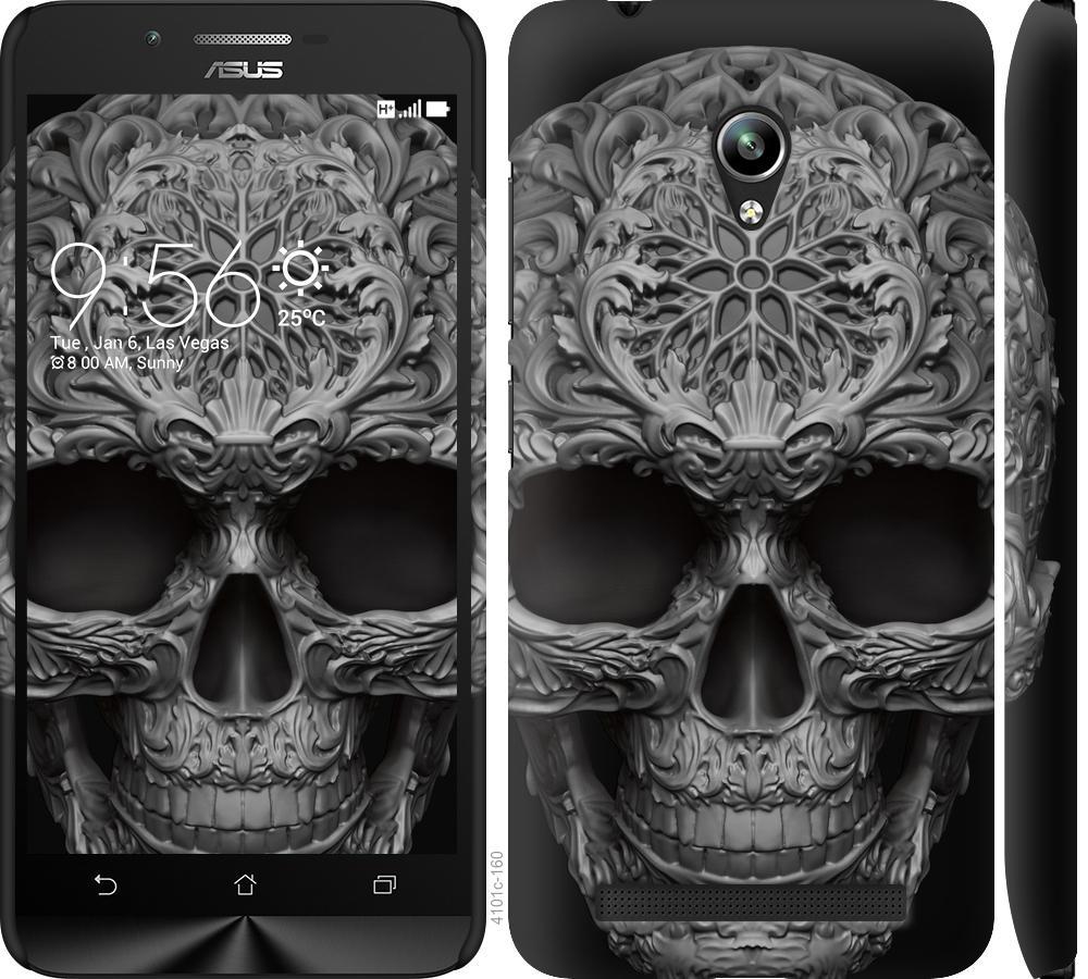 Чехол на Asus Zenfone Go ZC500TG skull-ornament