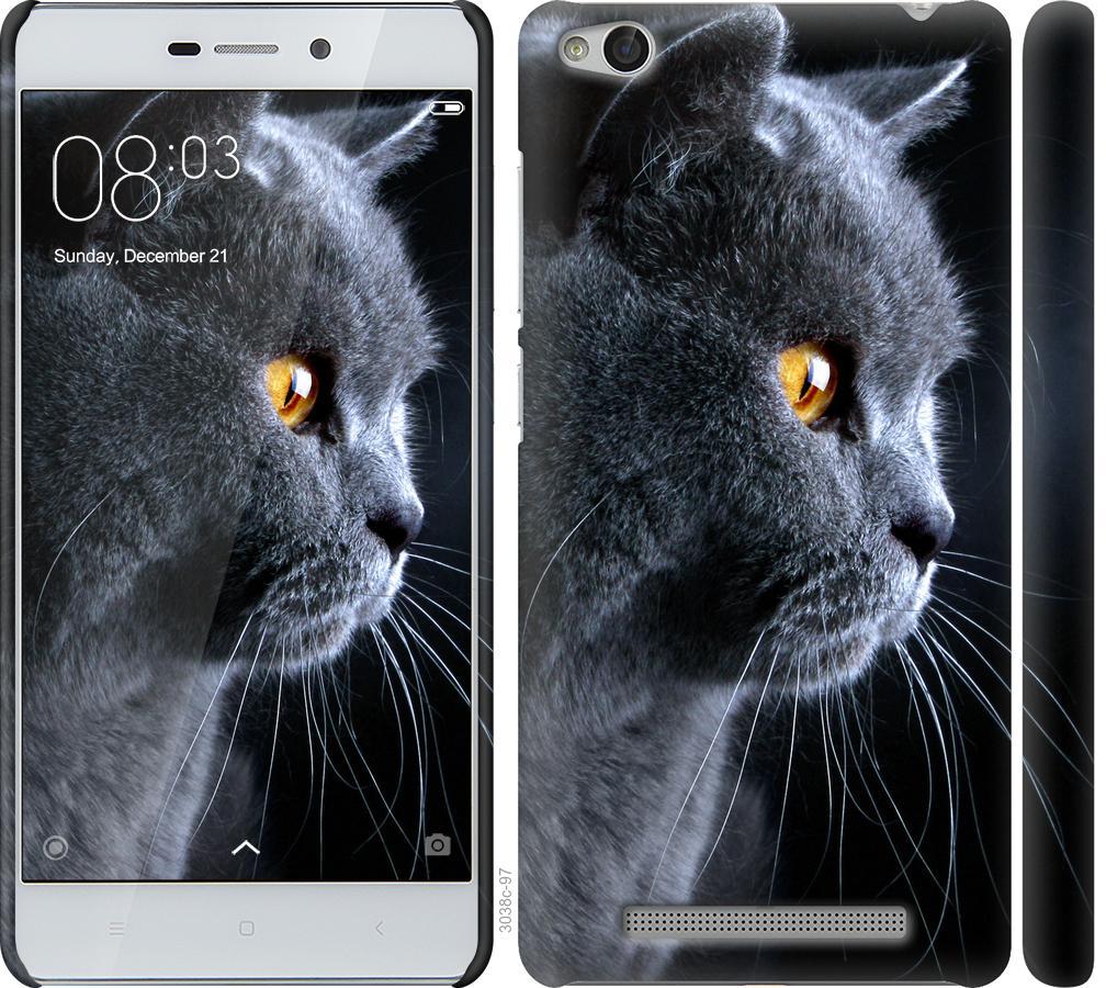 Чехол на Xiaomi Redmi 3 Красивый кот