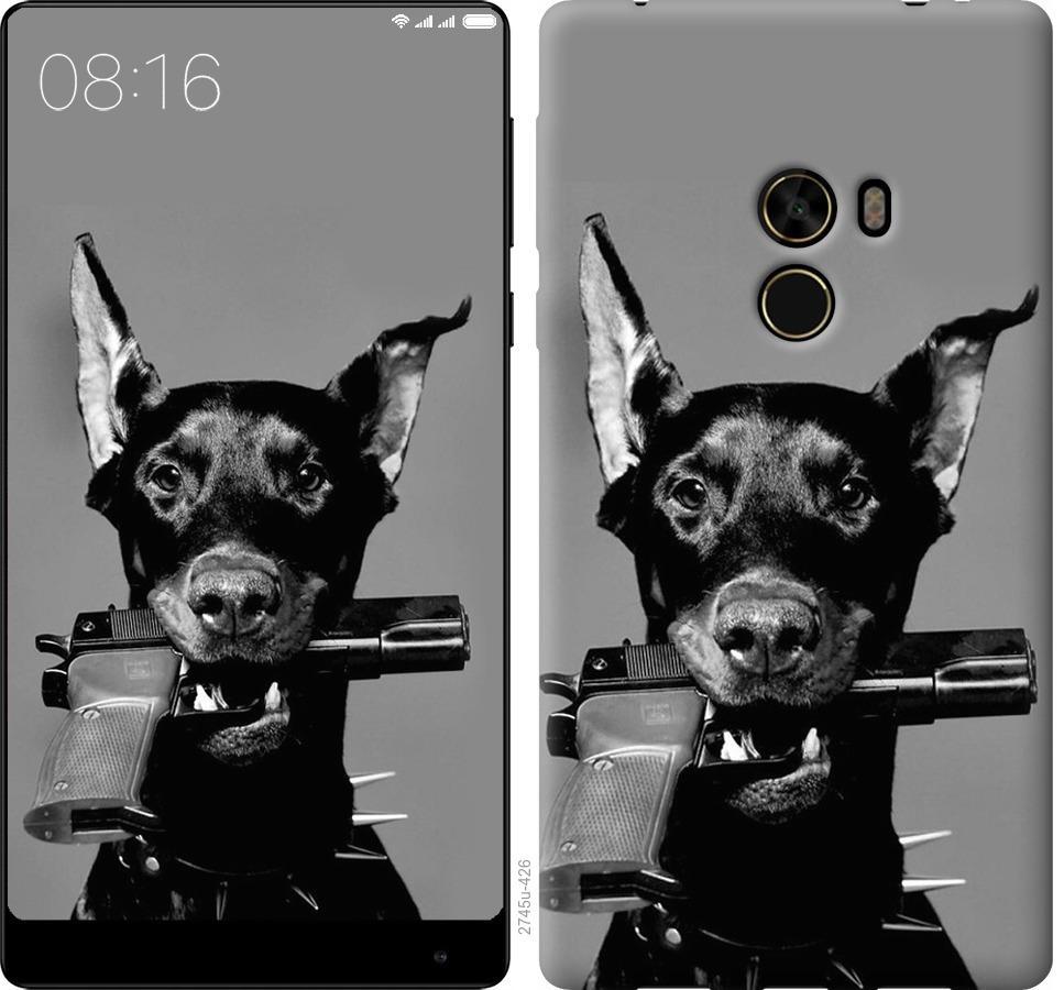 Чехол на Xiaomi Mi MiX Доберман