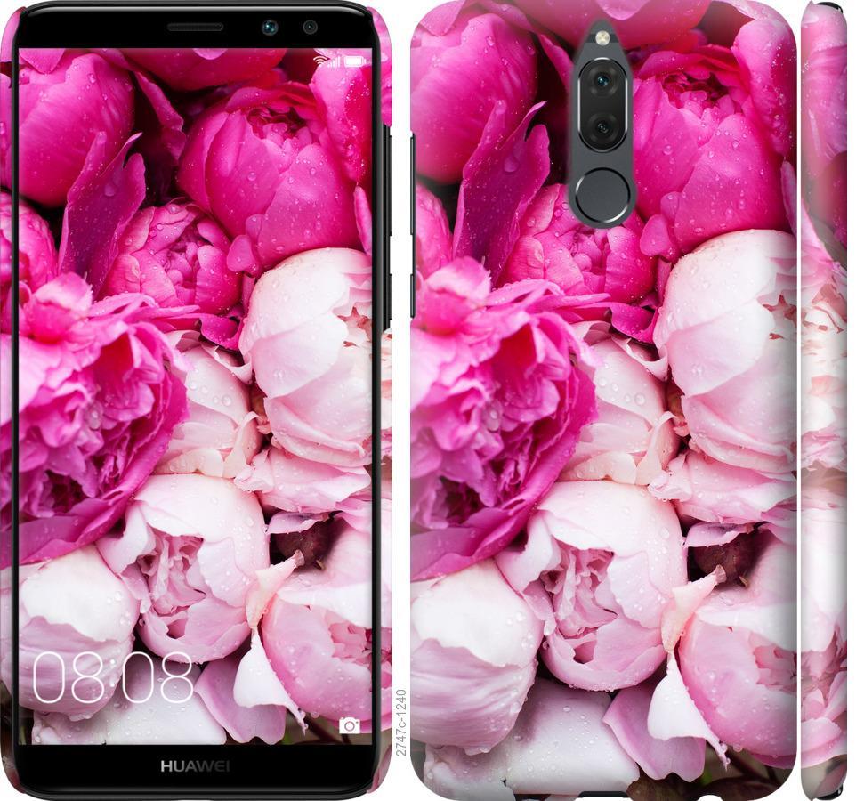 Чехол на Huawei Honor 9i Розовые пионы