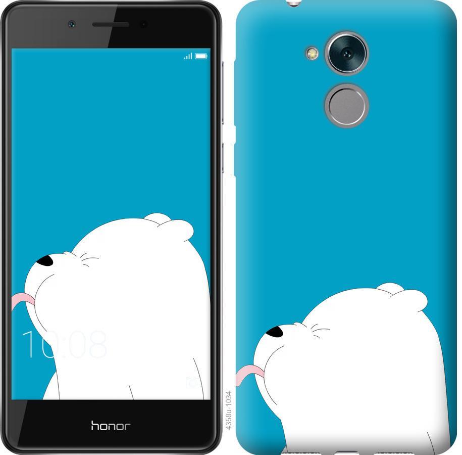 Чехол на Huawei Enjoy 6s Мишка 1