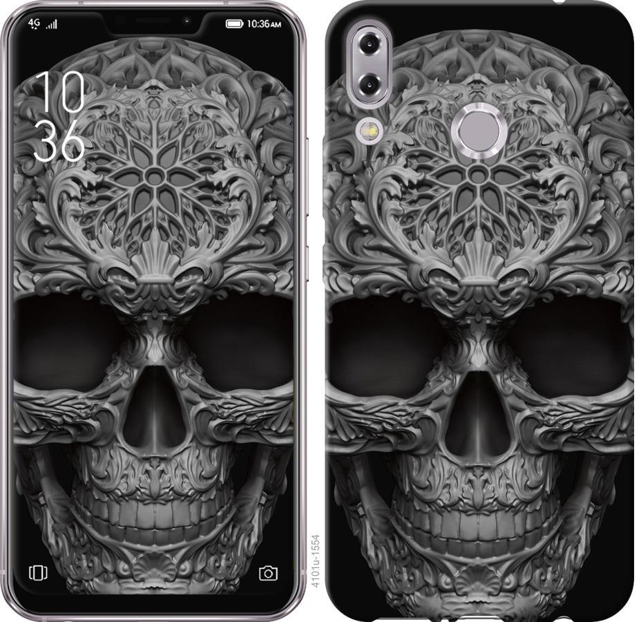 Чехол на Asus Zenfone 5 ZE620KL skull-ornament