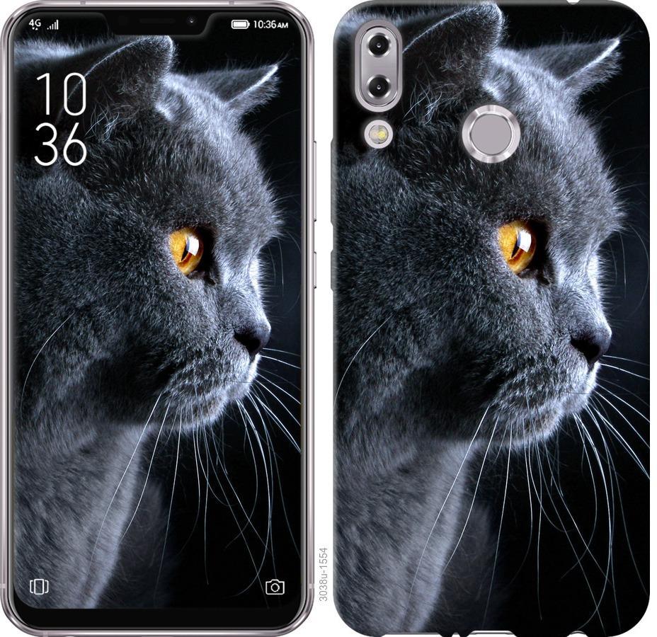 Чехол на Asus Zenfone 5 ZE620KL Красивый кот