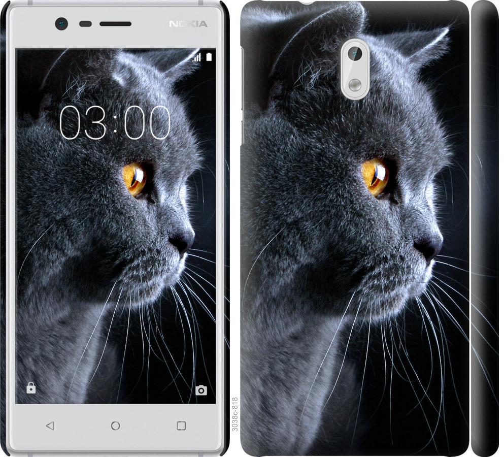 Чехол на Nokia 3 Красивый кот