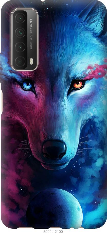 Чехол на Huawei P Smart 2021 Арт-волк