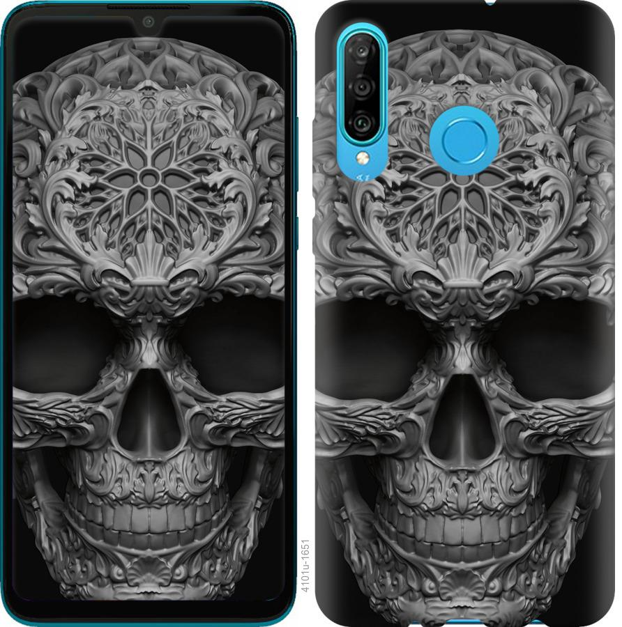 Чохол на Huawei Honor 20 Lite skull-ornament