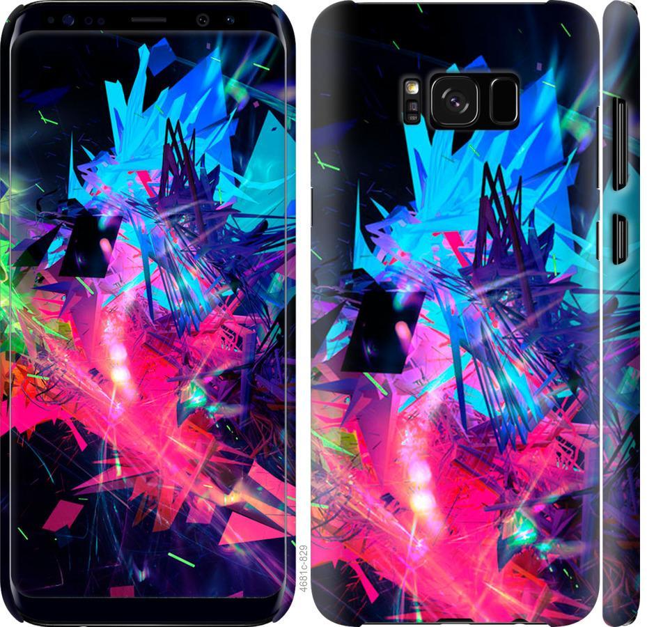 Чехол на Samsung Galaxy S8 Абстрактный чехол