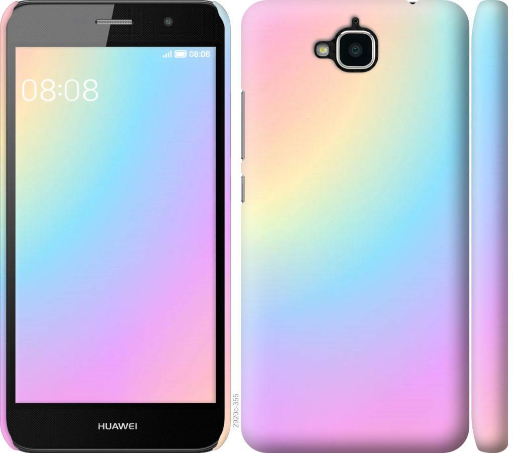 Чехол на Huawei Y6 Pro Радуга 2