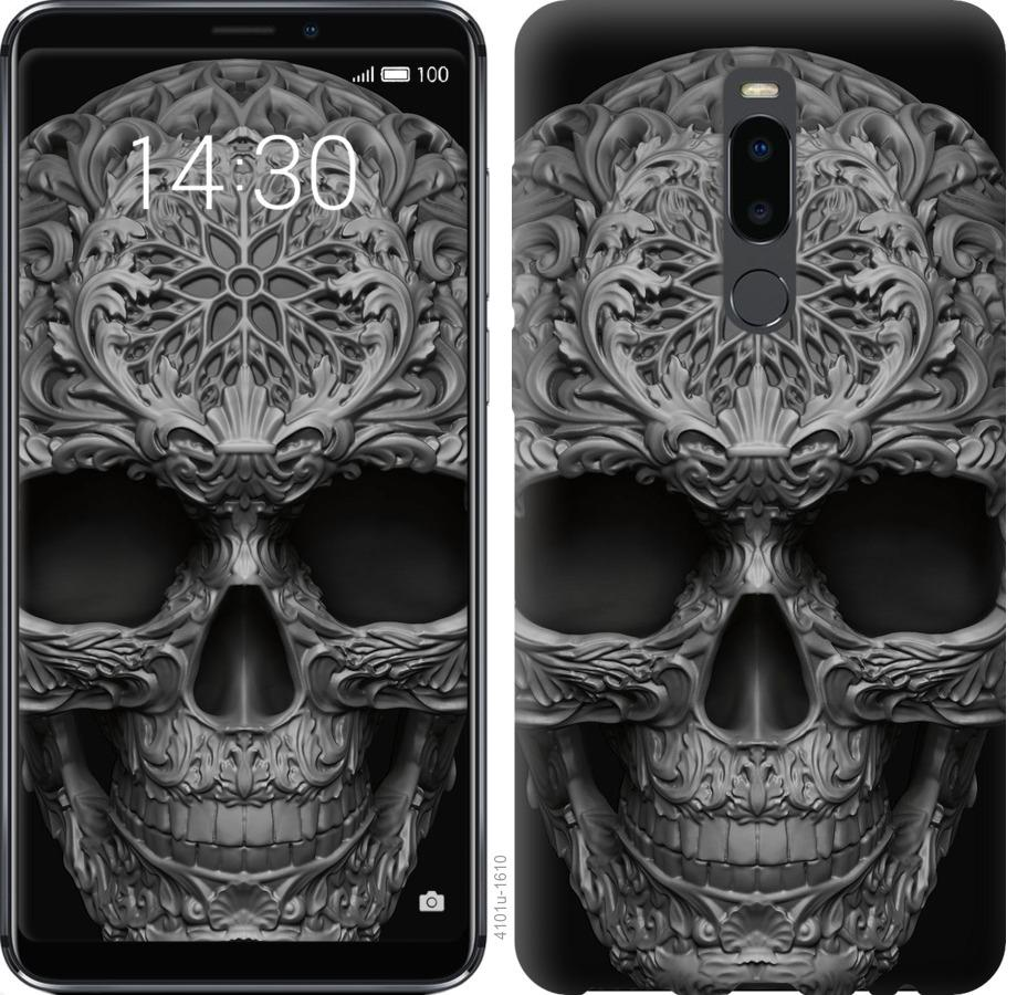 Чехол на Meizu Note 8 skull-ornament