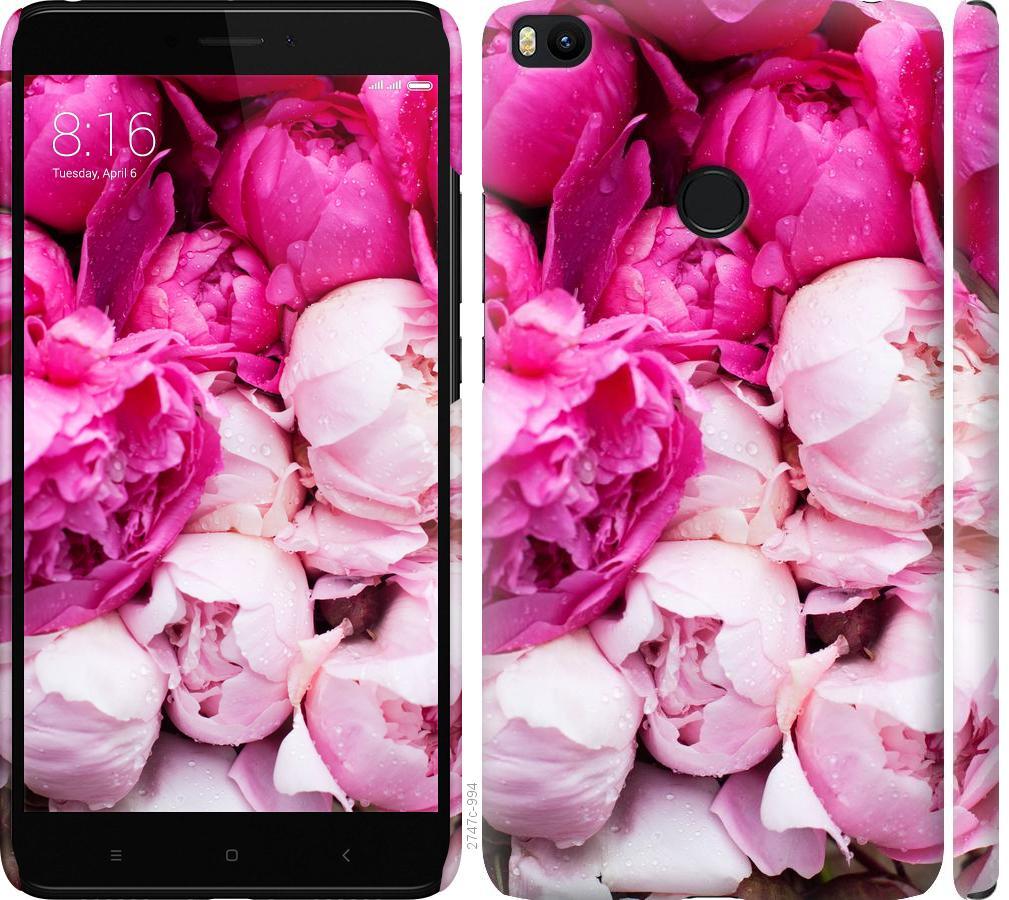 Чехол на Xiaomi Mi Max 2 Розовые пионы