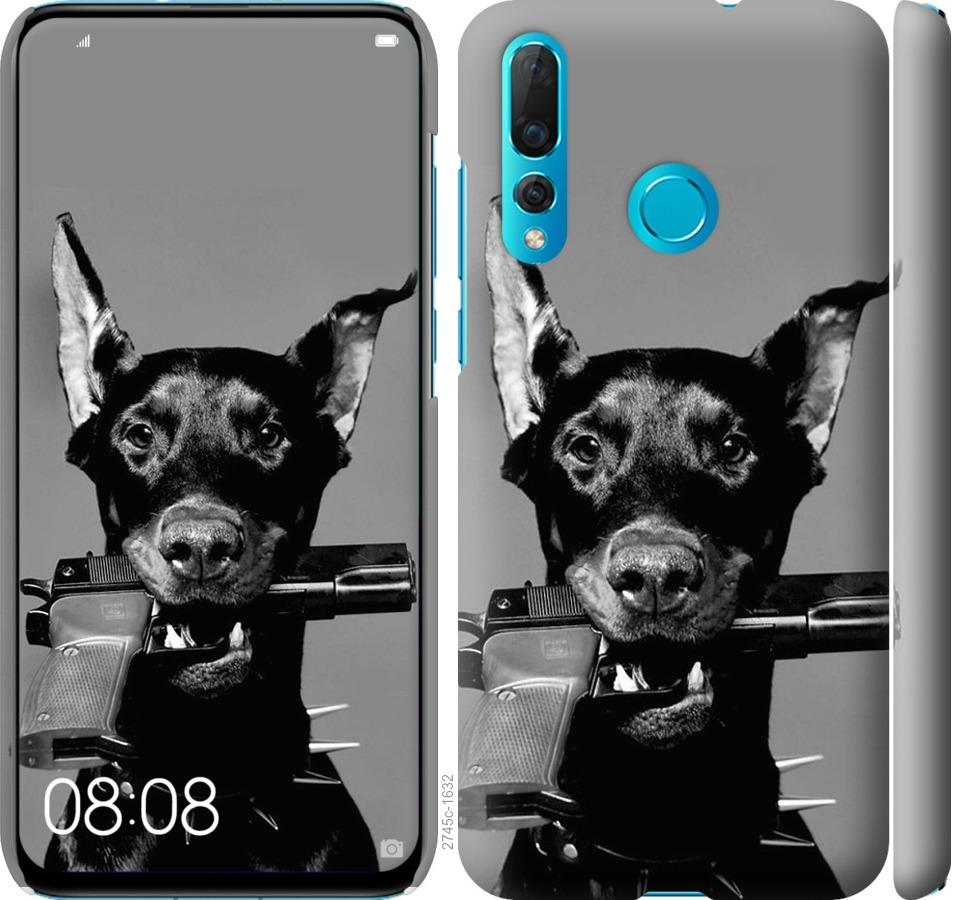 Чехол на Huawei Nova 4 Доберман