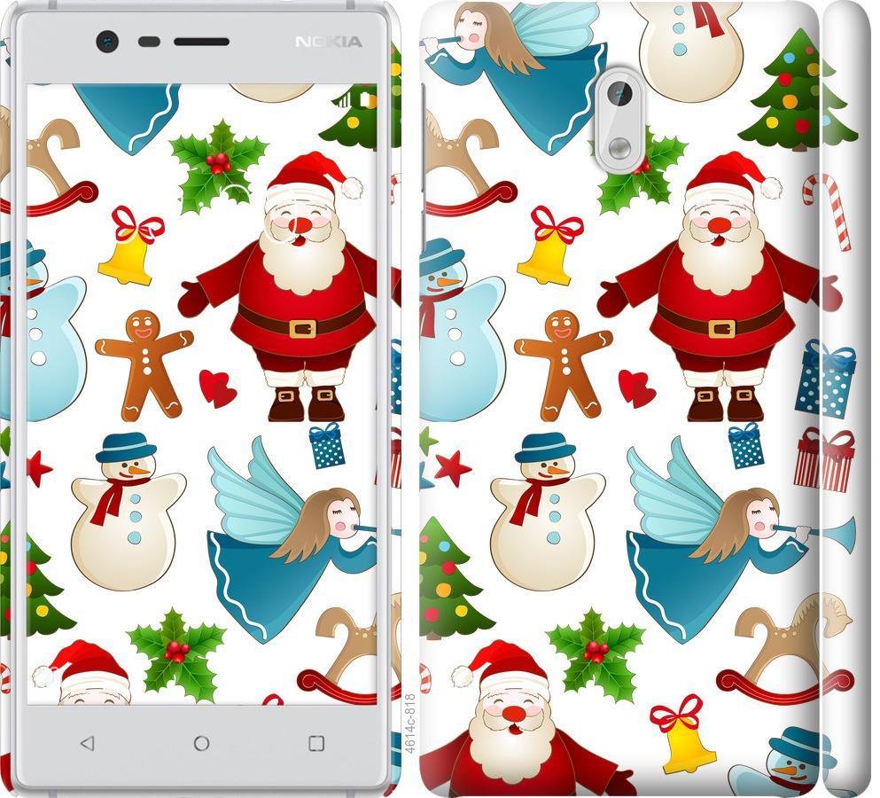 Чехол на Nokia 3 Новогодний 1