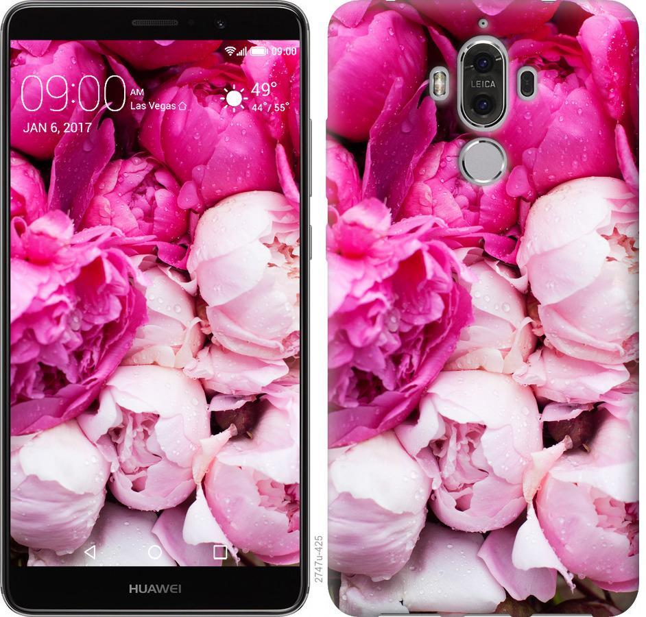 Чохол на Huawei Mate 9 Рожеві півонії