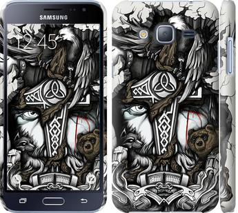 Чехол на Samsung Galaxy J3 Duos (2016) J320H Тату Викинг