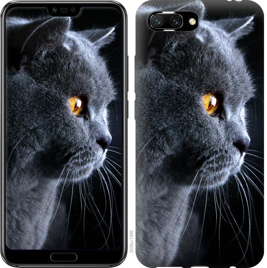 Чехол на Huawei Honor 10 Красивый кот