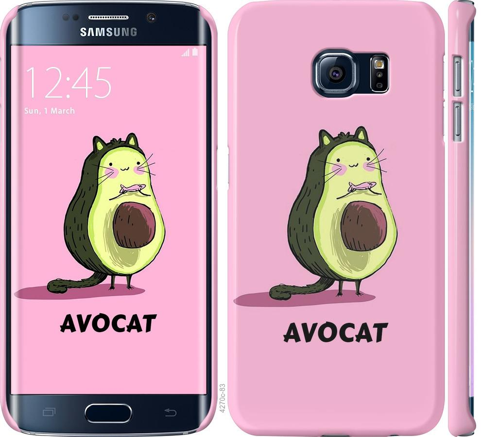 Чехол на Samsung Galaxy S6 Edge G925F Avocat