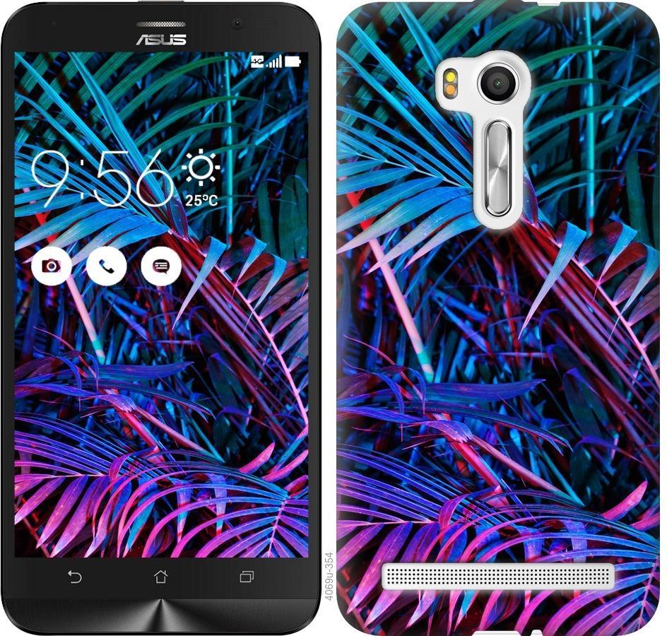 Чехол на Asus ZenFone Go TV ZB551KL Папоротник под ультрафиолетом